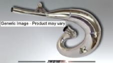DEP EXHAUST PIPE CHROME SMS/WRE125 2000-ON